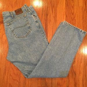 Lee Men Jeans 42 x 32 light wash Regular fit